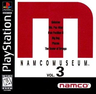 Screenshot Thumbnail / Media File 1 for Namco Museum Vol.3 [NTSC-U]